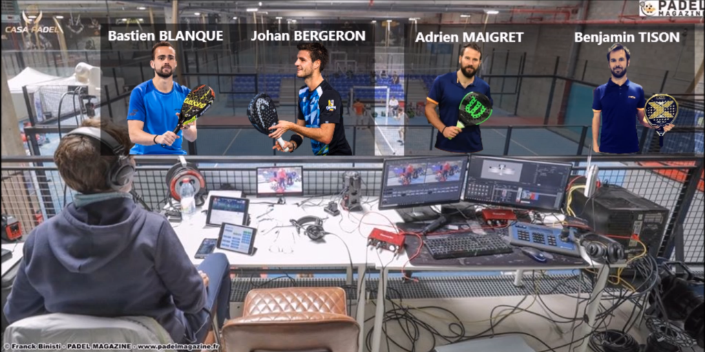 Final of the 2018 French Championships: Tison / Maigret vs Blanque / Bergeron