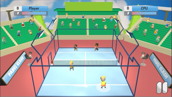 Padel Clash. Das Padel-Videospiel