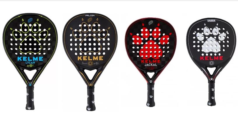 Kelme Padel: ¡4 palas con los colmillos!