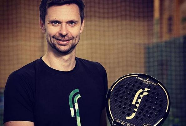 Soderlingは独自のラケットを発売します padel