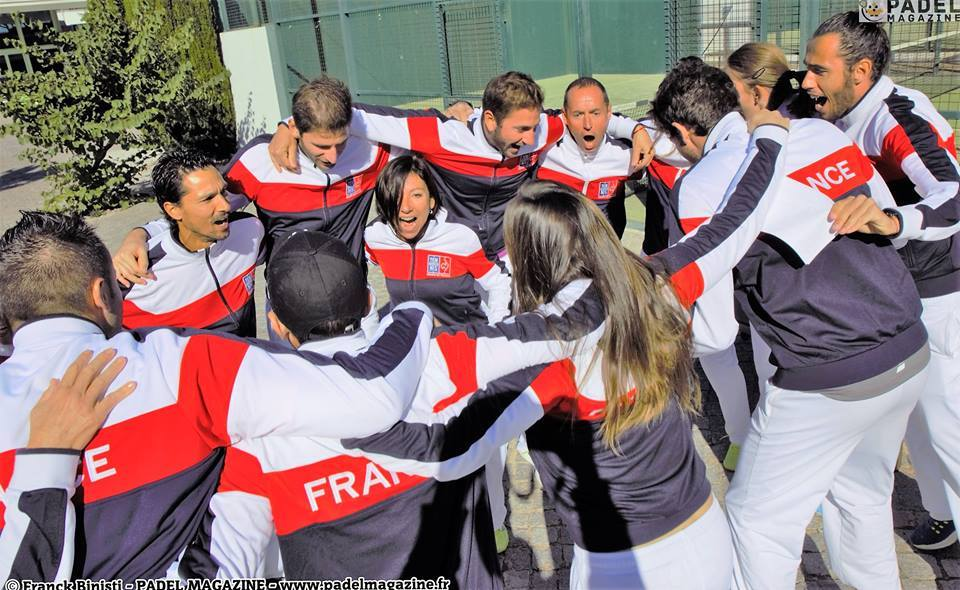 equipe frança padel 2016