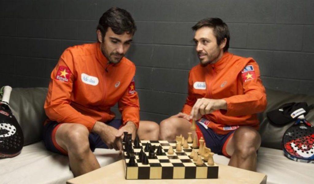 Padel and chess: 2 similar games?