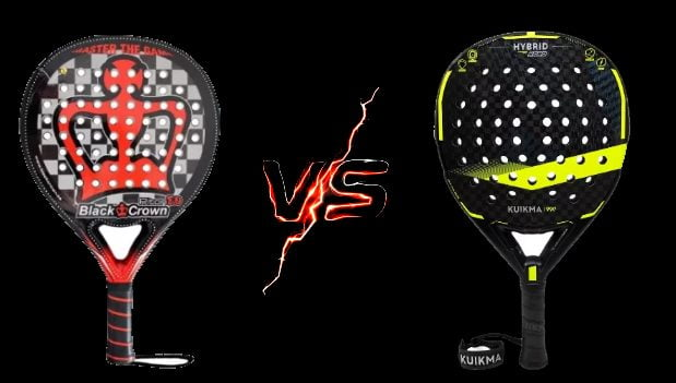 Black Crown Piton 8.0 VS Kuikma Hybrid Hard