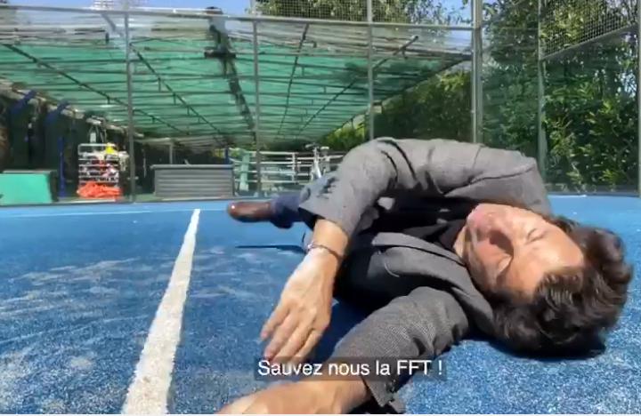 "David Marouani : ""Padel Abandonné"""