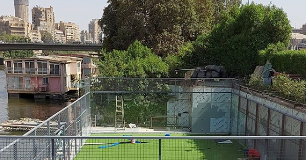 Egypt: padel on the banks of the Nile!