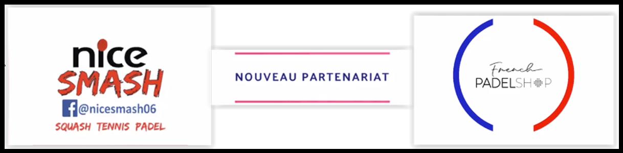 French Padel Shop et Nice Smash : ça matche !