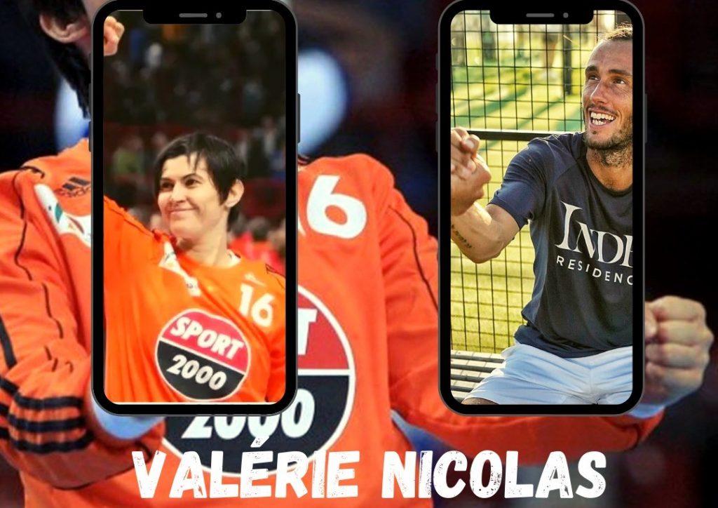 Valérie Nicolas a Viu amb un atleta