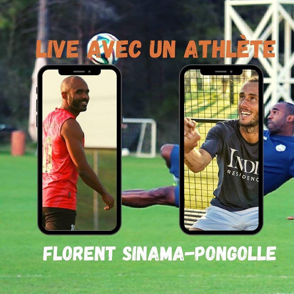 Florent Sinama-Pongolle dans LIVE AVEC UN ATHLETE