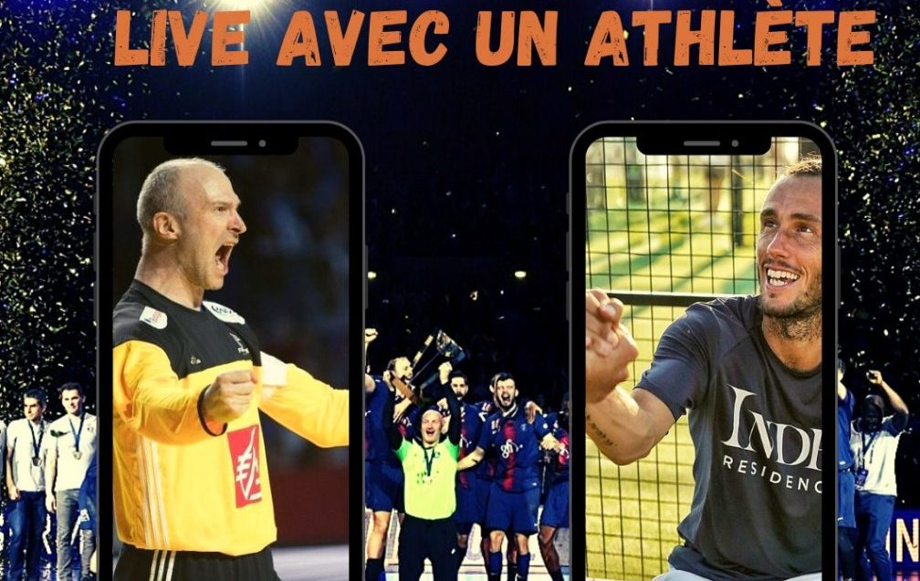 Thierry Omeyer in LIVE CON UN ATLETA
