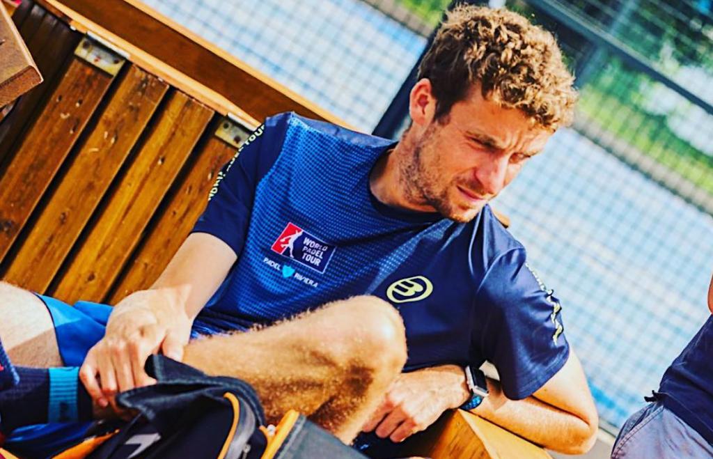 """Mathieu Squarta : """"Faire jouer des pros de tennis vs des pros du WPT"""""""