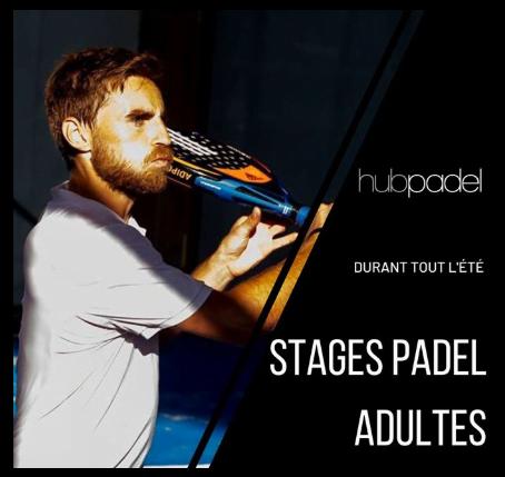 Les stages d´été chez Hub Padel