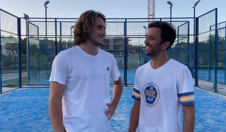Stefanos Tsitsipas on the World Padel Tour ?