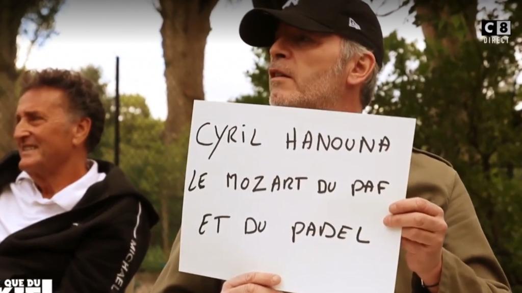 "Hanouna: ""The Mozart of padel""?"