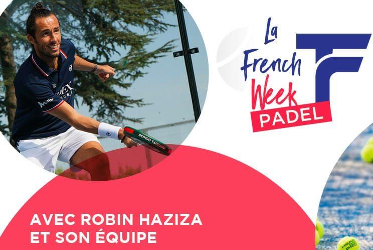 Franse week Padel: 23 tot 29 augustus 2020