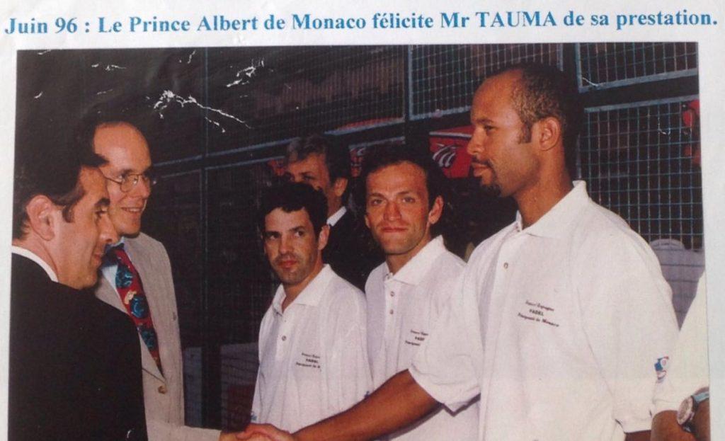 Patrick Tauma – Retour au source du padel français