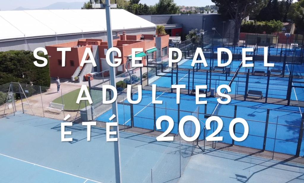 Stages d'été PADEL adultes au club du Mas Perpignan