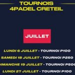July 4PADEL Créteil Tournaments