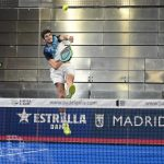 Smash d'Arturo Coello sur le WOrld Padel Tour