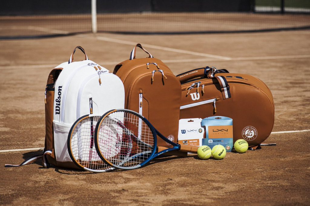 Les produits Wilson x Roland Garros