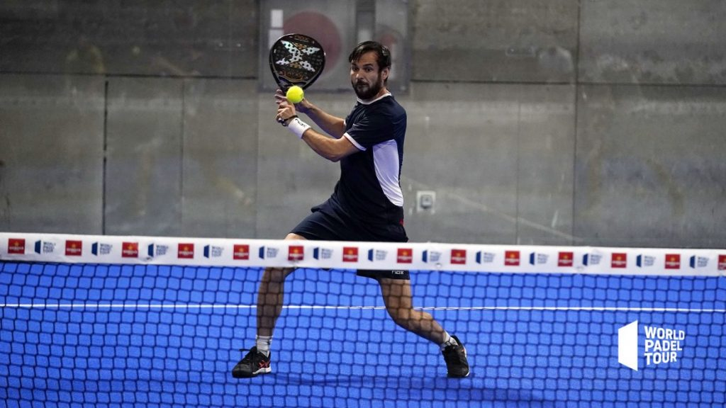 Benjamin Tison volée de revers World Padel Tour