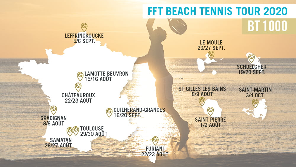 FFT Beach Tennis Tour 2020: andiamo