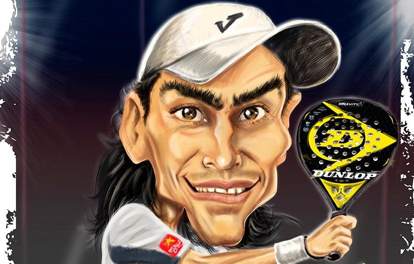 Jose Calleja : le roi de la caricature padel !