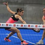 Patty Llaguno Eli Amatriain volée World Padel Tour