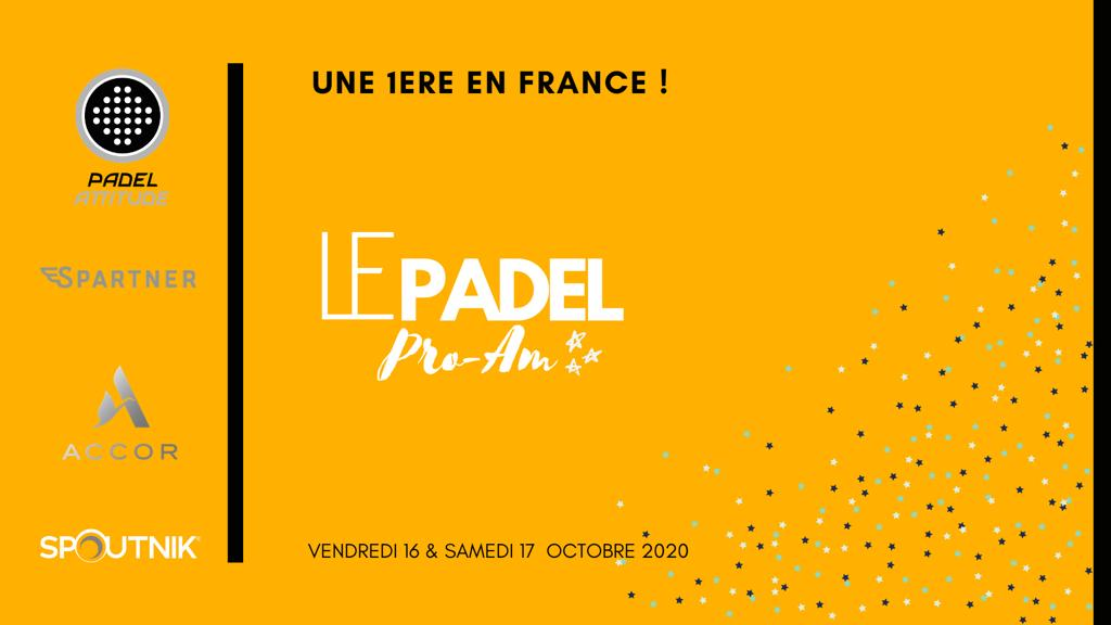 Pro-Am: unprecedented event at Padel Attitude!