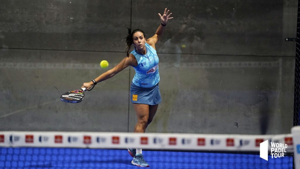 Sofia Araujo bajada world padel tour