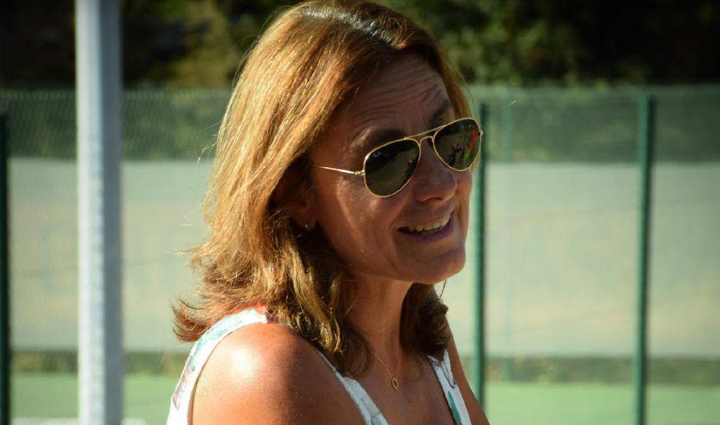 """Valérie Touchain: """"Die padel, das ist das Tennis von vor 20 Jahren """""""