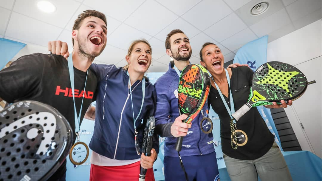 French champions of padel 2020