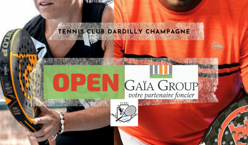 Open GAIA GROUP à Dardilly – 3 au 5 juillet