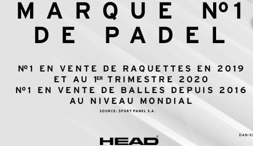 L'énorme succès de Head Padel