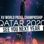 mondial padel poster 2020-2021 covid qatar