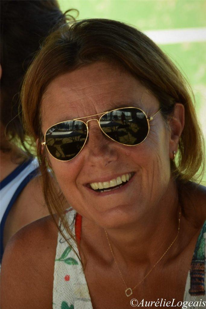 Valérie Touchain Presidente da Bailly Noisy Tennis