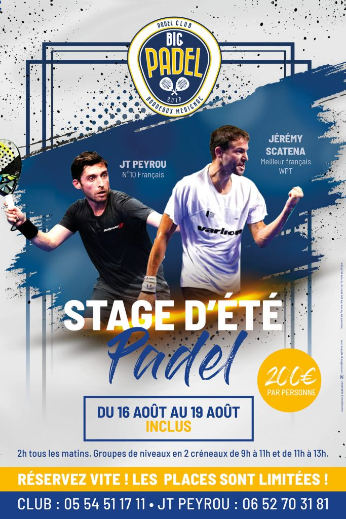 Stage Padel au Big padel