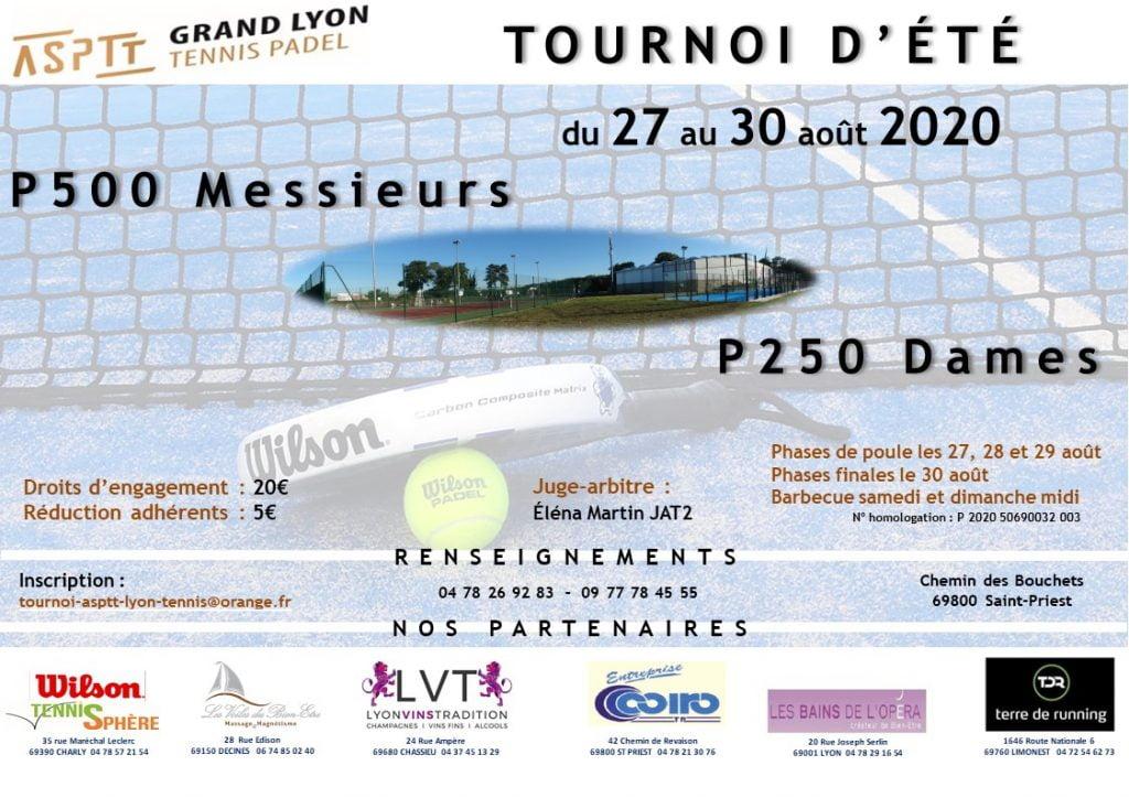 Pasantías y torneos en ASPTT Lyon
