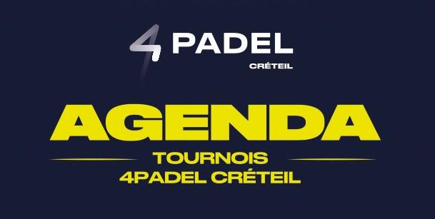 Le 4Padel Créteil en mode tournois