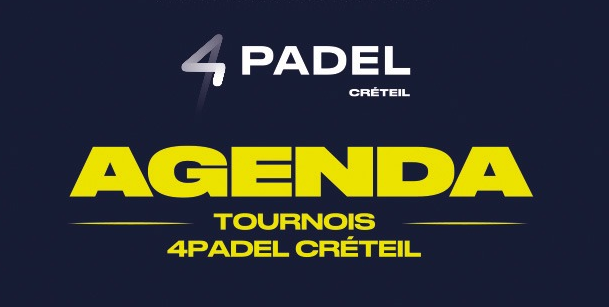 il 4Padel Créteil in modalità torneo