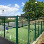 Municipal padel court Lourenza Spain