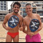 Miguel Lamperti et Antomi Ramos palas Nox Beach Tennis
