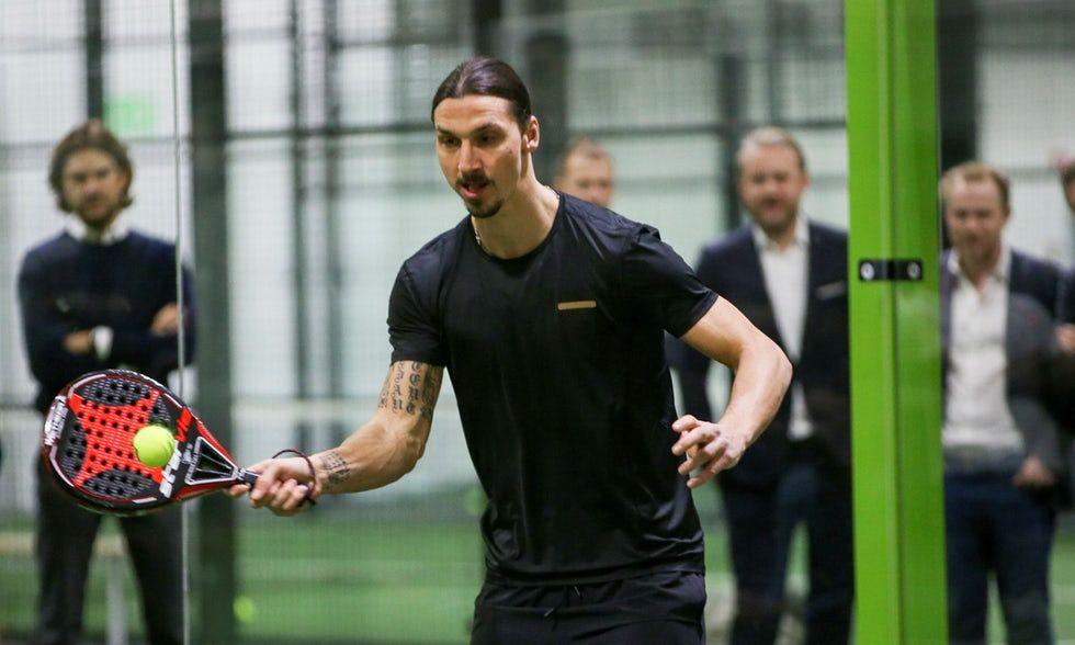 Zlatan Ibrahinovic está planejando um Padel Zenter em Milão!