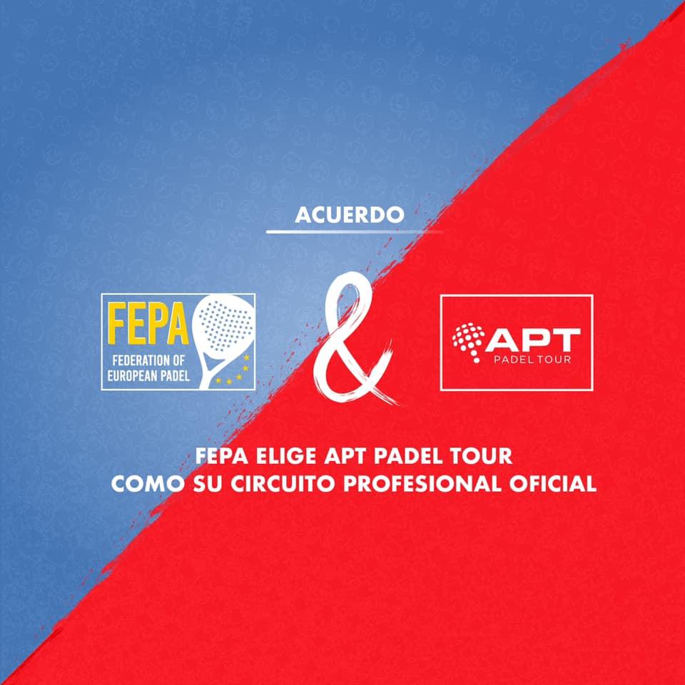 L'APT Padel Tour bientôt en Europe avec la FEPA