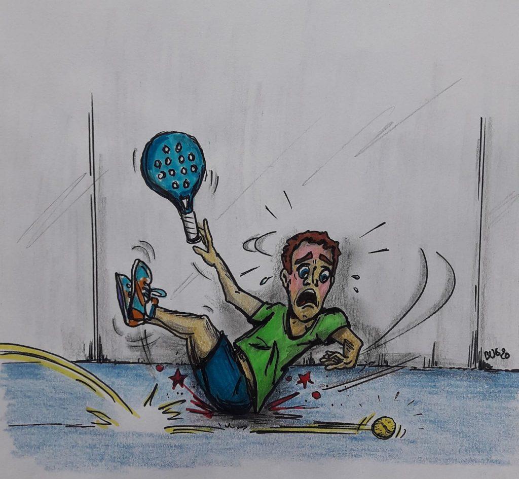 David Niemietz dessine le pire du padel