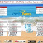 Padel-Spieler zwanzig mal zehn Turnier Padel Spirit P250