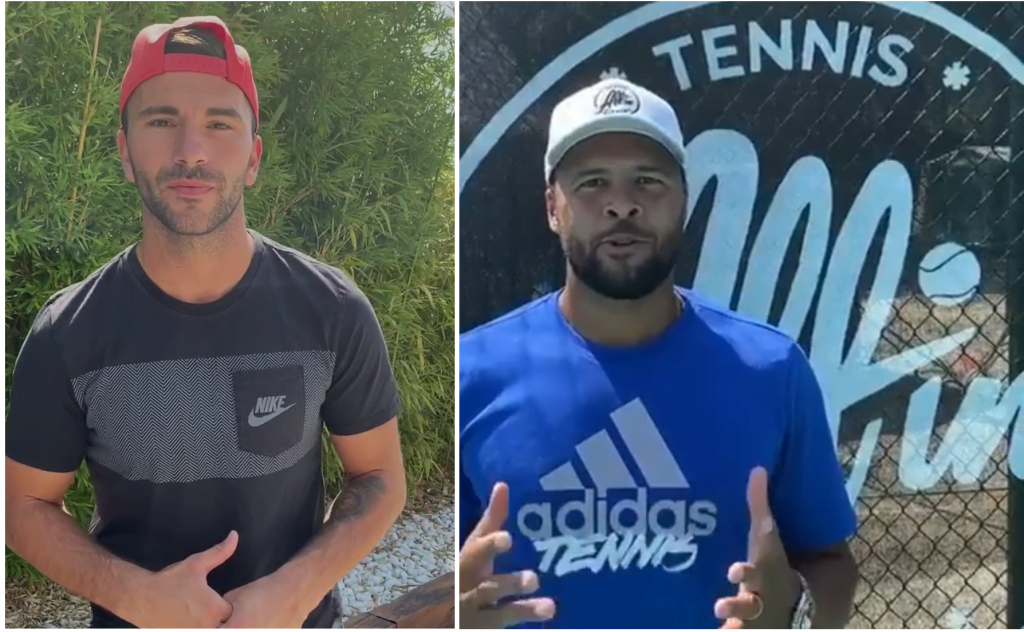 Tsonga / Lopes misent sur All In Padel