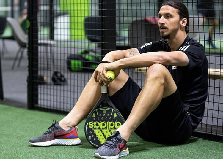 Zlatan gives the padel incredible visibility