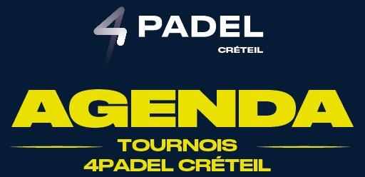 Agenda: new dates on 4Padel Créteil