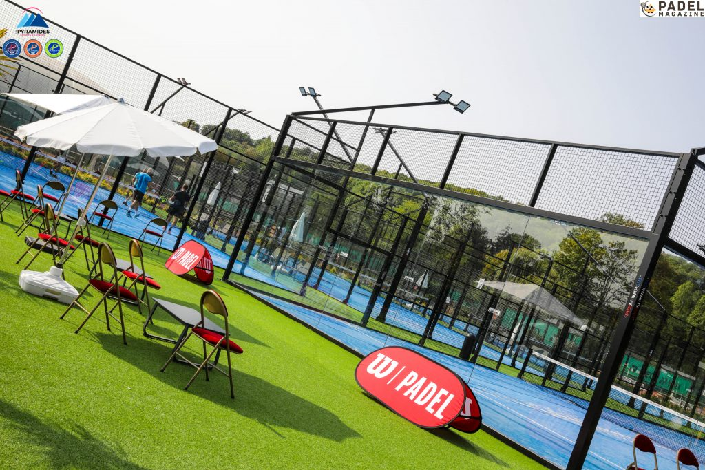 clubs of the pyramids padel wilson