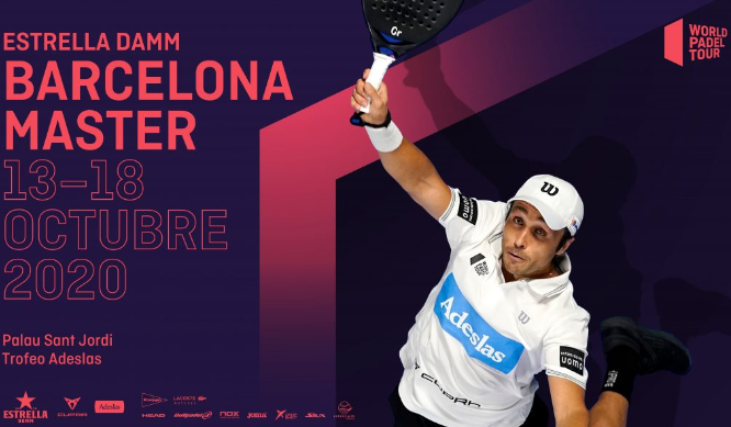 Affiche Estrella Damm Barcelona Master Belasteguin